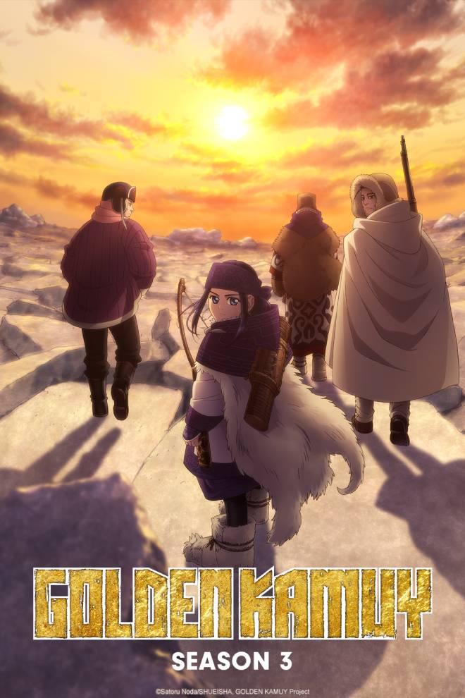 Golden Kamuy - Tercera Temporada