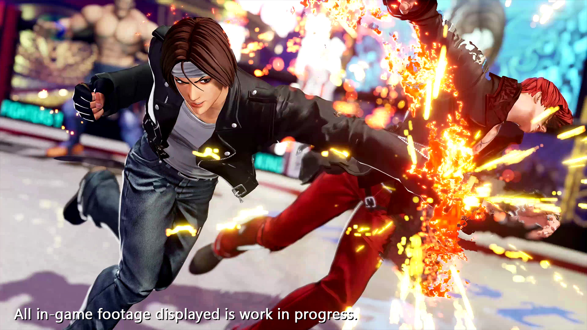 The King of Fighters XV - Tráiler de Kyo Kusanagi