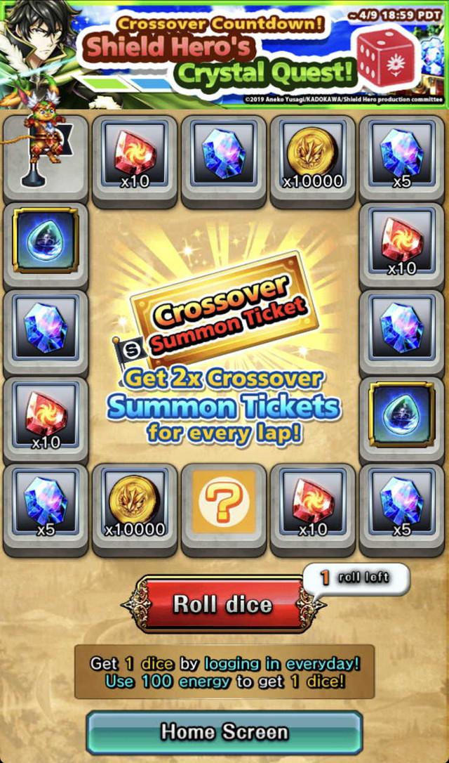 Shield Hero Crystal Quest