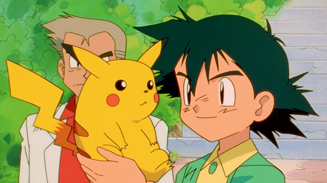 Ash y Pikachu, Pokémon