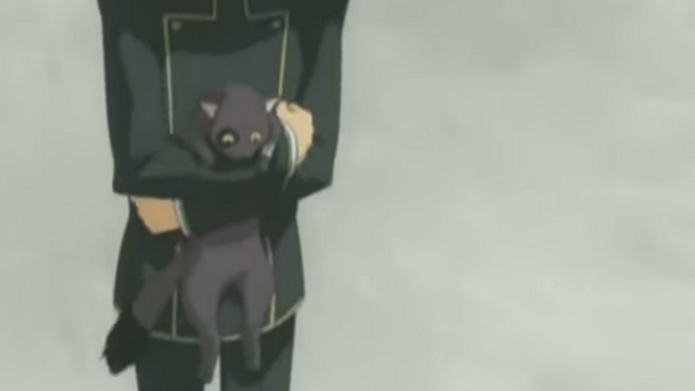 Arthur is carried in Code Geass