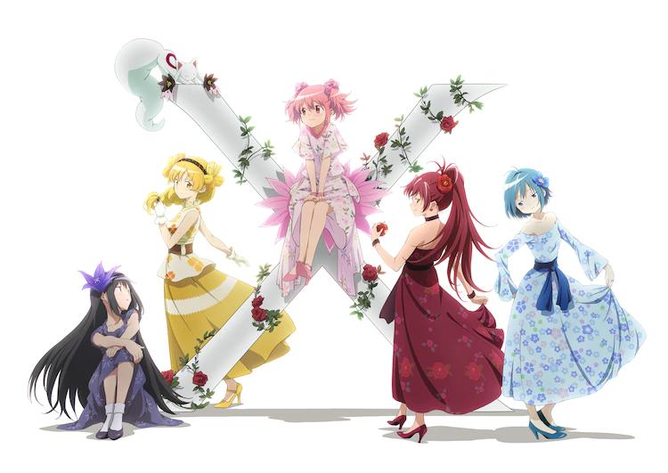 Visual del décimo aniversario de Madoka Magica