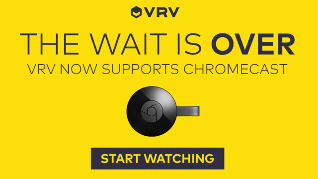 Crunchyroll - Forum - VRV Now Available on Chromecast