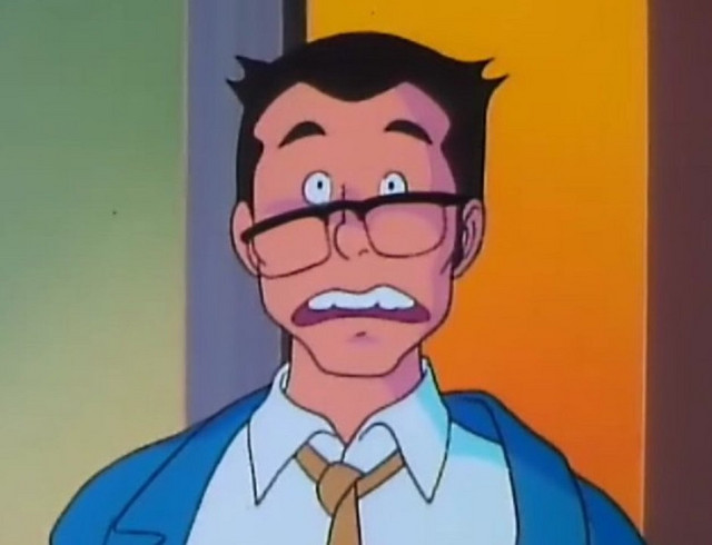 Ataru's Dad is the third most unlucky character in Urusei Yatsura, the second being his wife and the first being his son, Ataru Moroboshi.