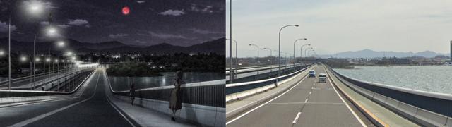granbelm, anime, real life, pilgrimage
