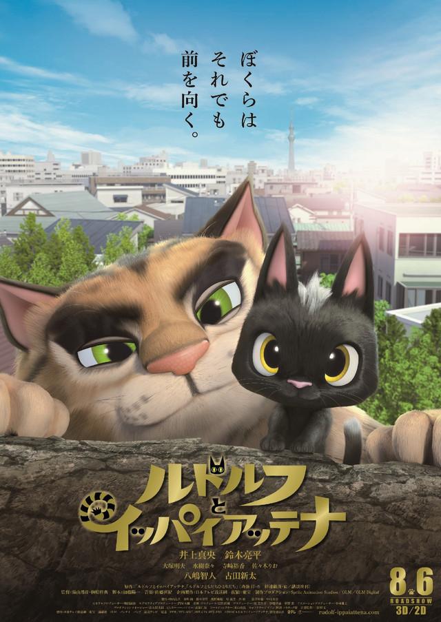 Rudlof, the black cat