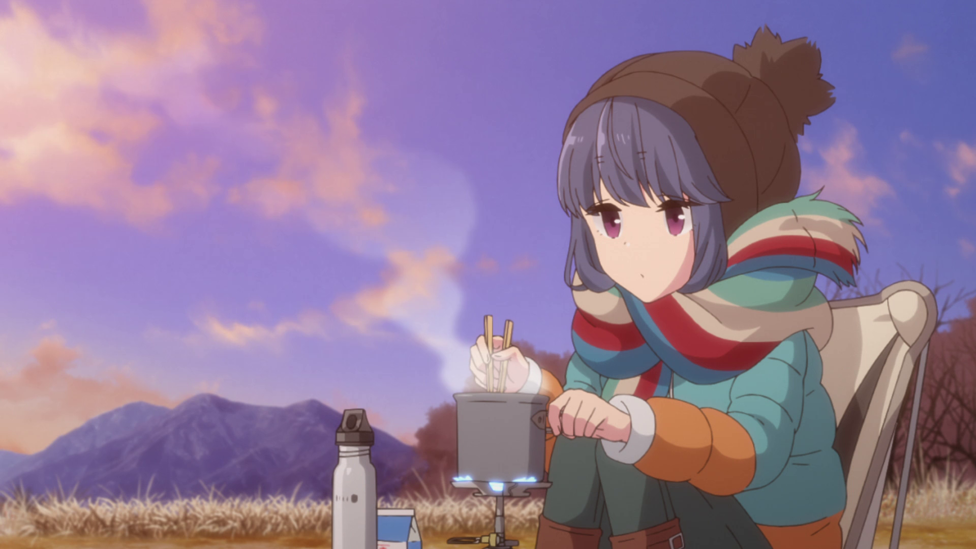 Yamanashi Is on Show in Two New Laid-Back Camp Season 2 TV Anime Visuals