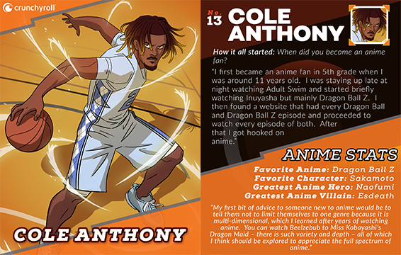 Cole Anthony Player Card