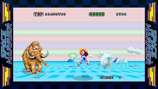 GET READY for Space Harrier!
