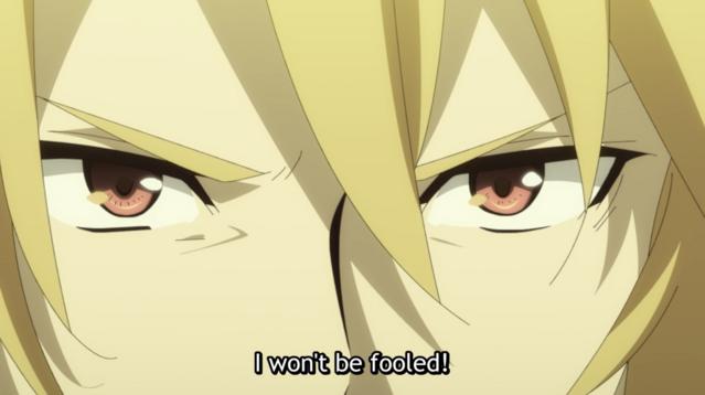 Motoyasu, being fooled