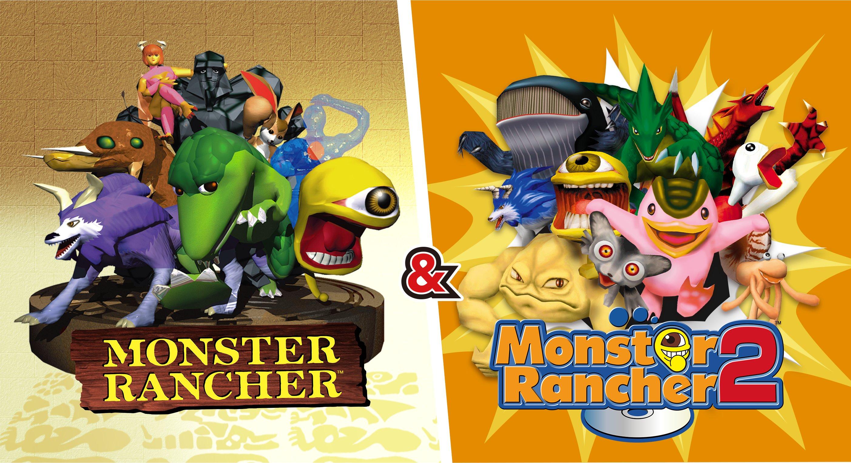 Monster Rancher 1 y 2 DX