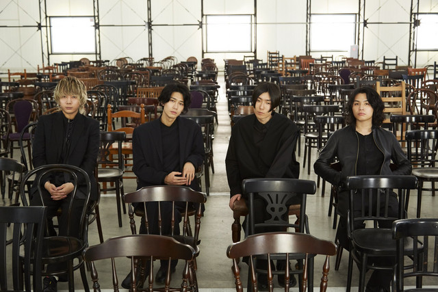 Ivy to Fraudulent Game, a Japanese rock band composed of Nobuaki Teraguchi, Tomoki Oshima, Ryotaro Kawai, and Yuya Fukushima.