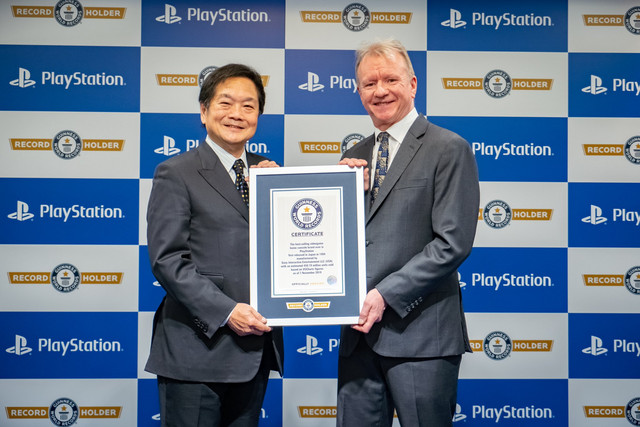 Playstation Wins the 'Best-Selling Home Video Game Console Brand' Guinness World Record