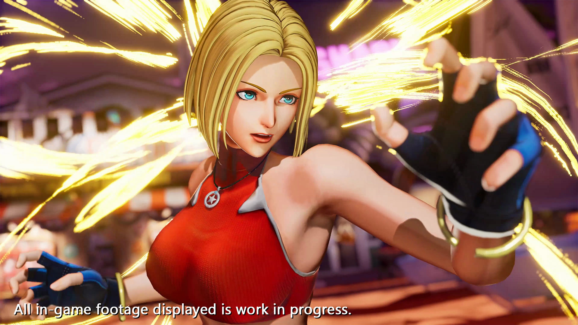 The King of Fighters XV - Blue Mary
