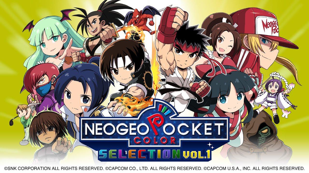 Selección de colores de bolsillo Neo Geo Vol.  1