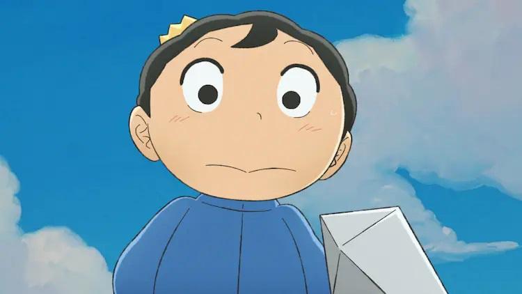 El príncipe Bojji se encuentra con un nuevo amigo inesperado en una escena del próximo anime de televisión Ranking of Kings.