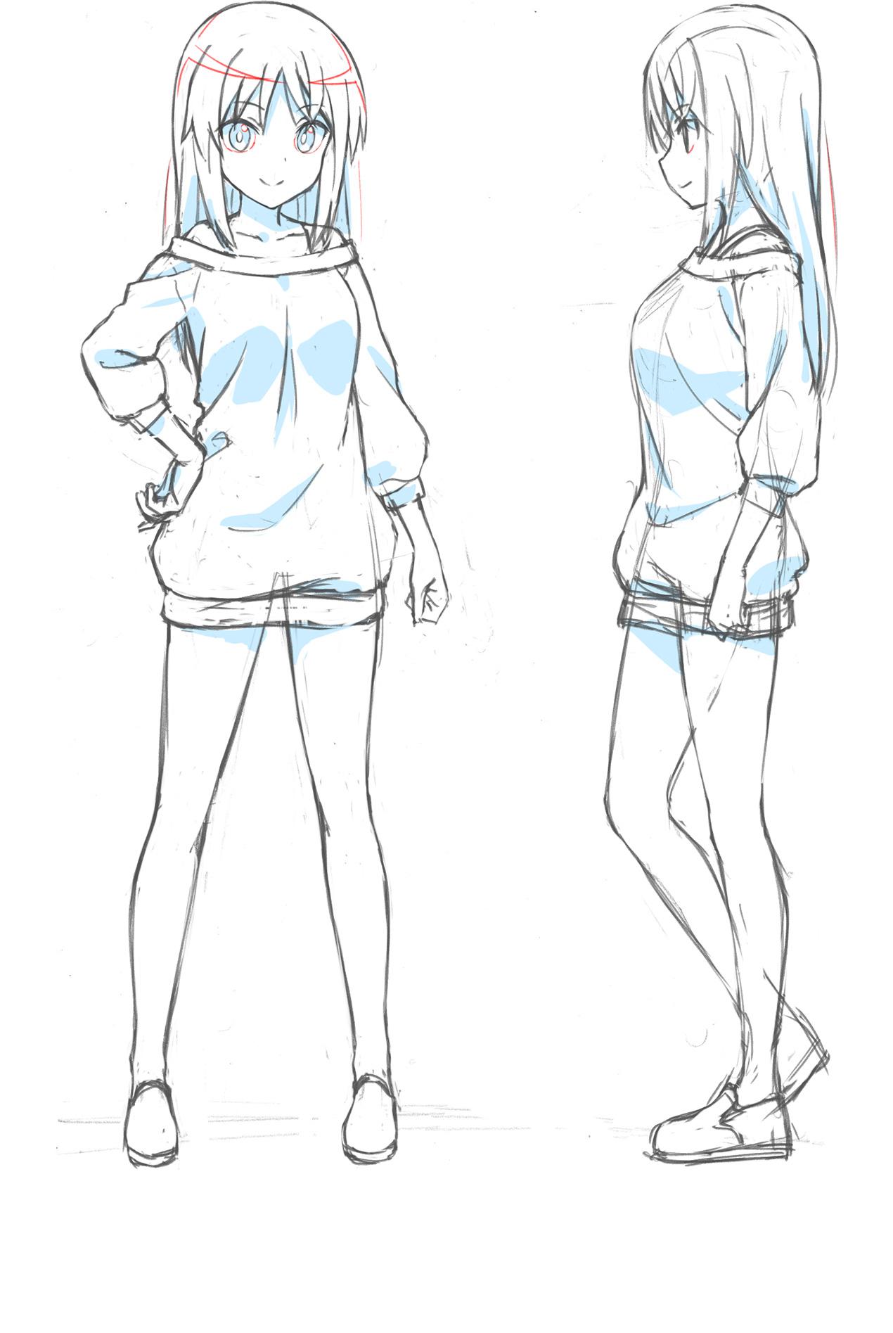 Un escenario de personajes de Sitara Kaneshiya, uno de los personajes principales del próximo Alice Gear Aegis OAV.