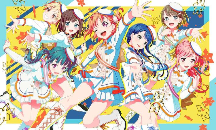 ¡Una nueva imagen clave para el próximo PuraOre!  ~ PRIDE OF ORANGE ~ Anime de televisión con las chicas del equipo de hockey sobre hielo Nikko Dream Monkeys vestidas como ídolos y realizando una canción y una rutina de baile.