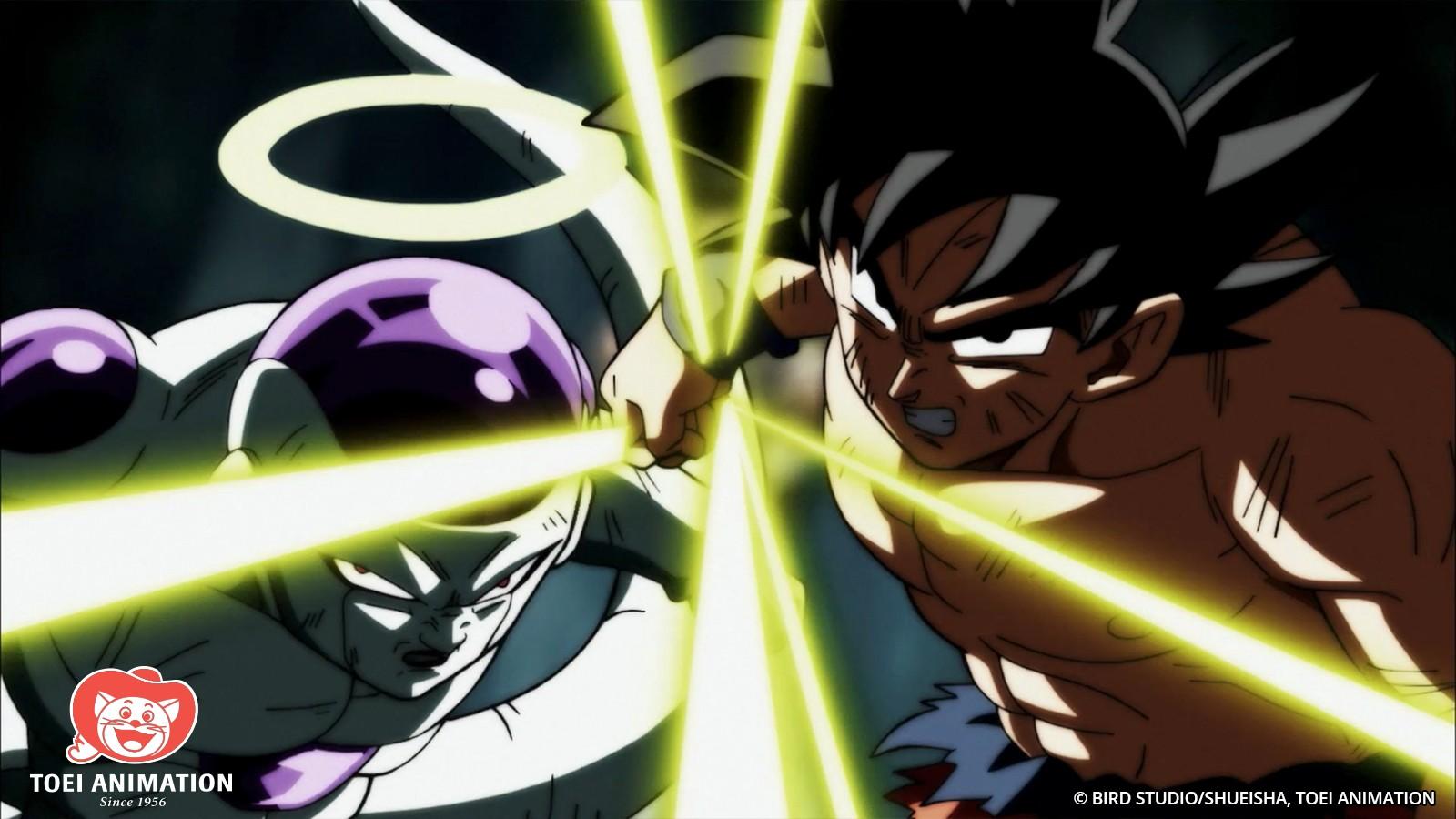 Goku Frieza Tournament of Power Team Up Dragon Ball Super