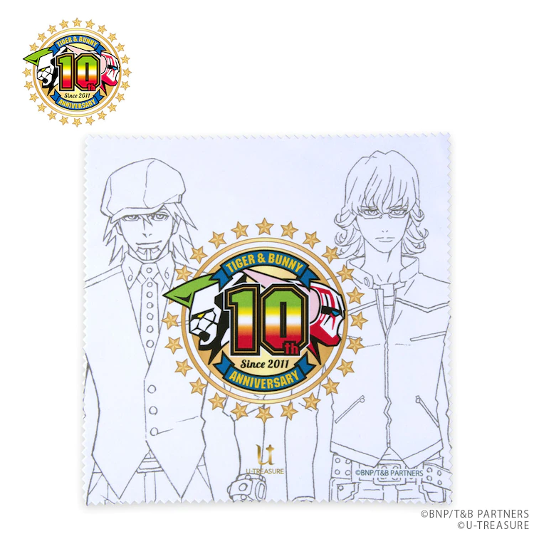 Tiger & Bunny cleaning cloth