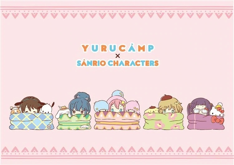 Sanrio x Laid-Back Camp