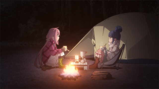 Campamento relajado