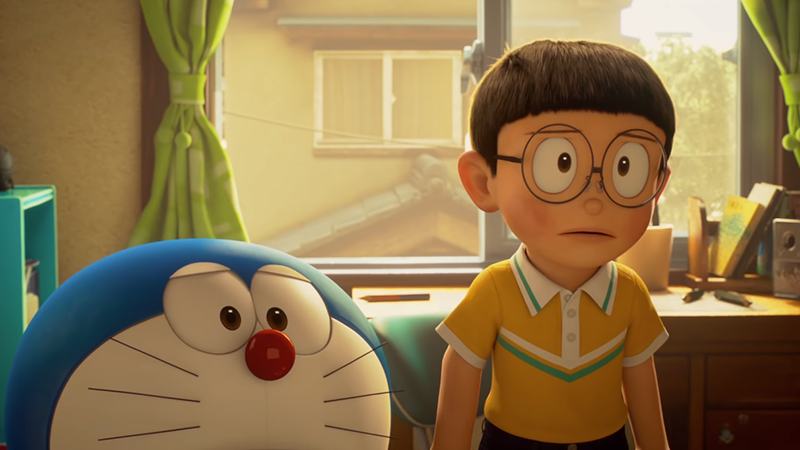 Nobita and Doraemon, from STAND BY ME DORAEMON 2