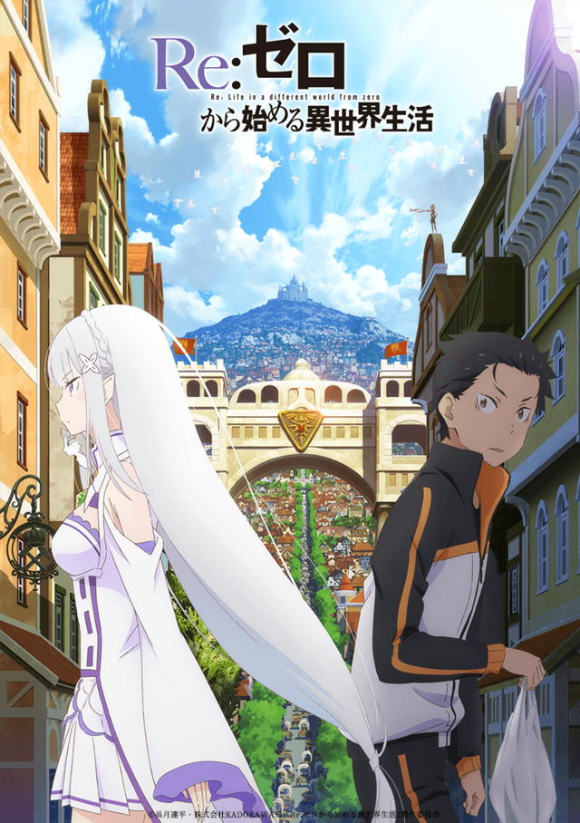 Re:ZERO Starting Life in Another World Season 2 key visual