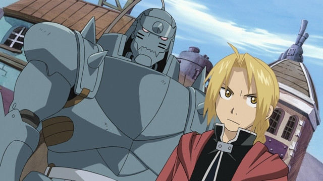 Ed and Al in Fullmetal Alchemist: Brotherhood