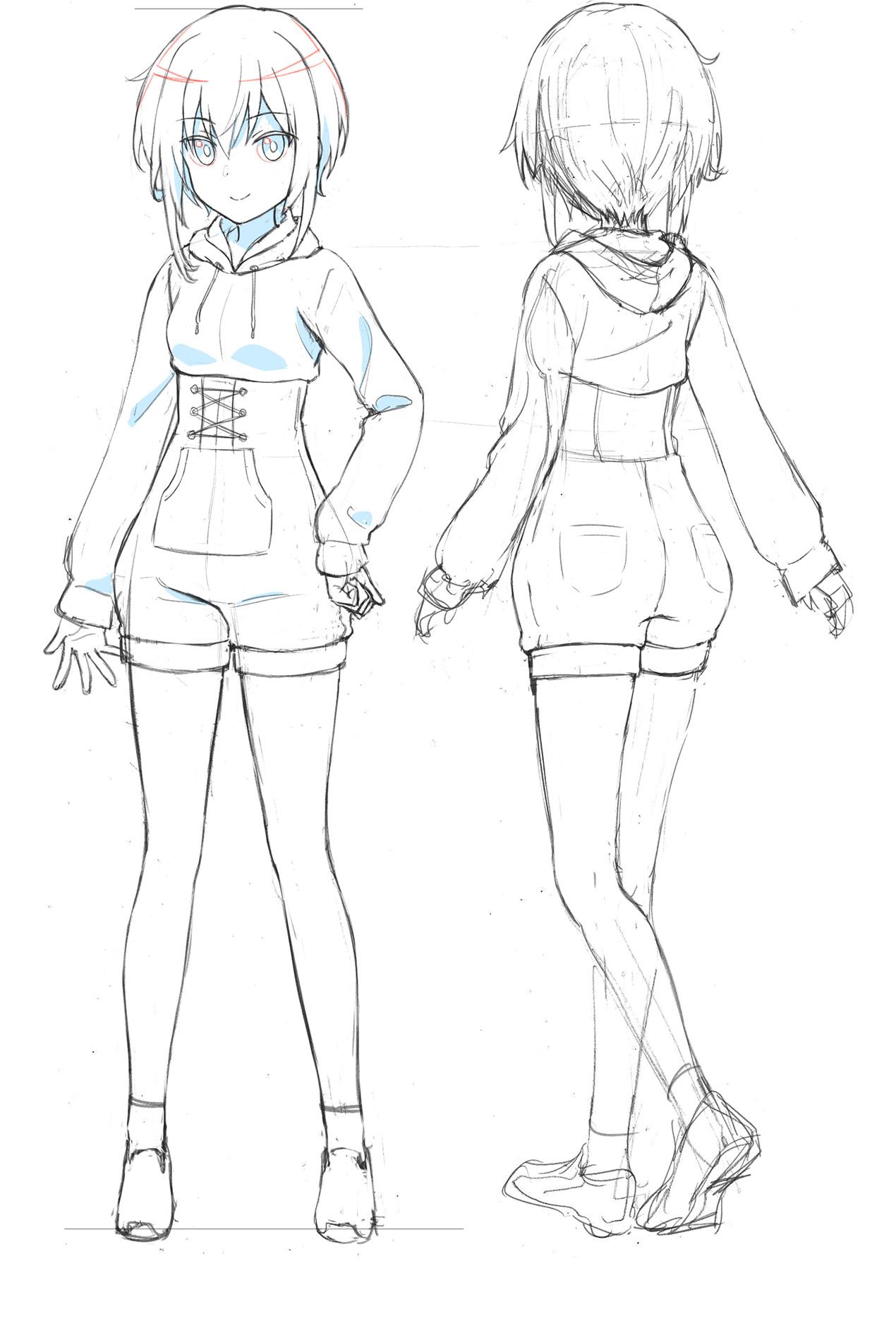Un escenario de personajes de Sugumi Kanagata, uno de los personajes principales del próximo Alice Gear Aegis OAV.