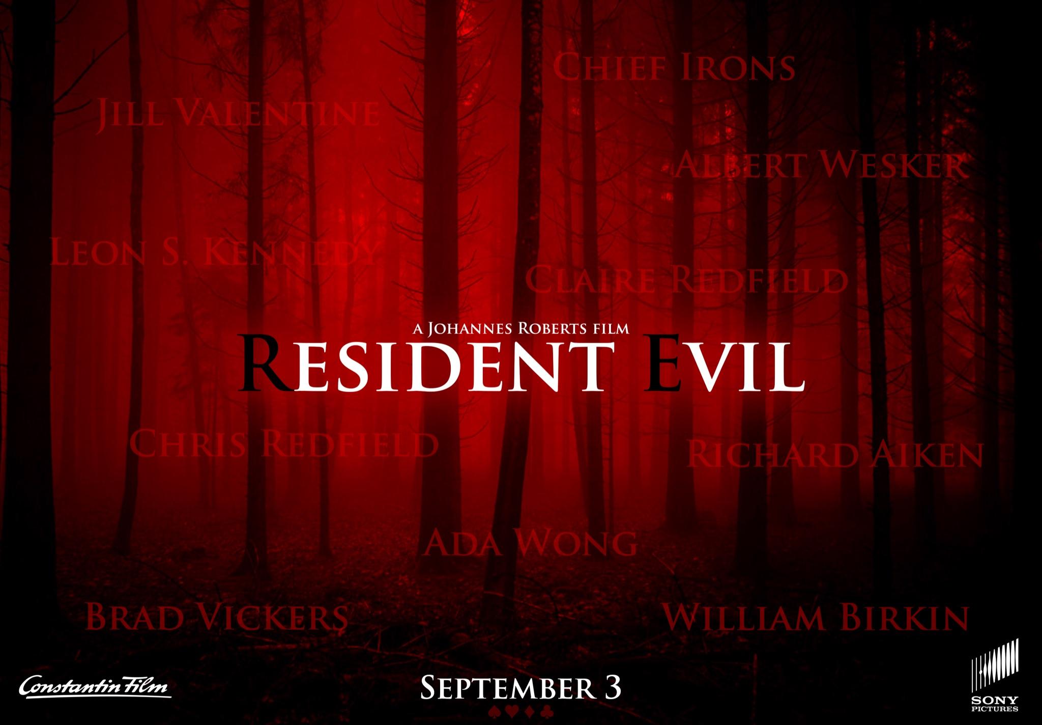 Reinicio de la película Resident Evil
