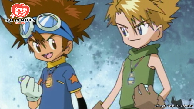 Tai and Matt, Digimon Adventure