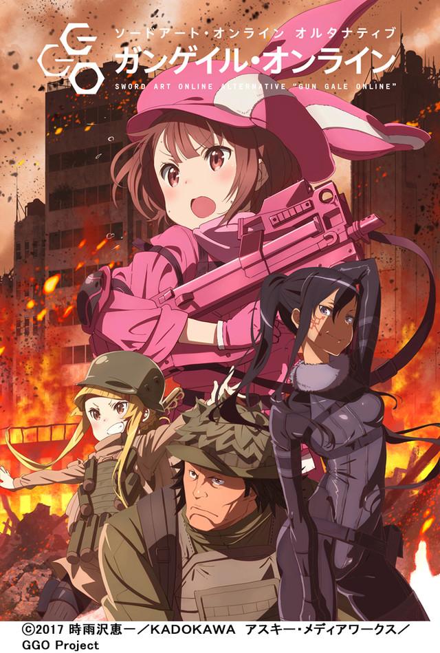 Resultado de imagen para Sword Art Online Alternative: Gun Gale Online