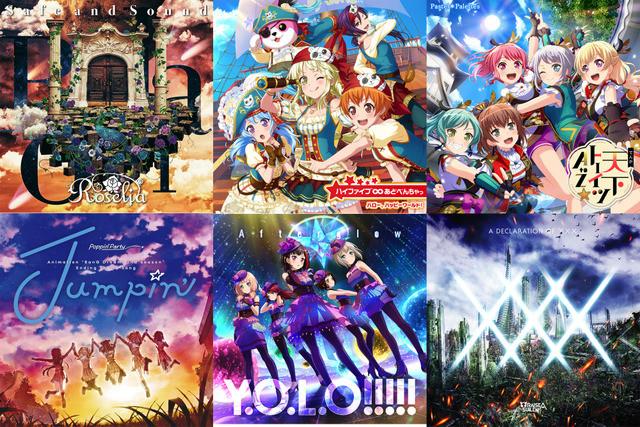 6 Lagu Bang Dream! Kuasai 10 Besar Oricon