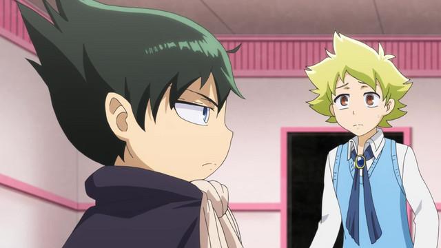 Muhyo and Roji prepare to confront a supernatural problem in the Muhyo & Roji's Bureau of Supernatural Investigation TV anime.
