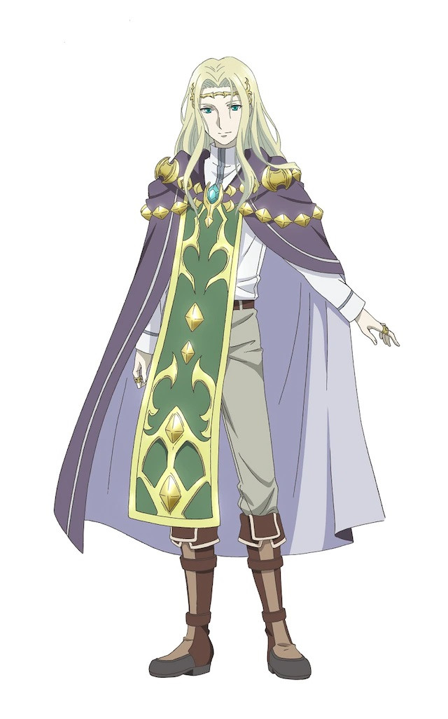 A character visual of Alfred, a wizard from the upcoming Hachinan-tte, Sore wa Nai Deshou! TV anime.