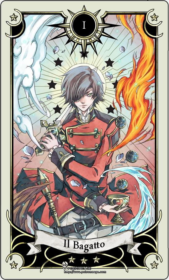 tarot magic manga