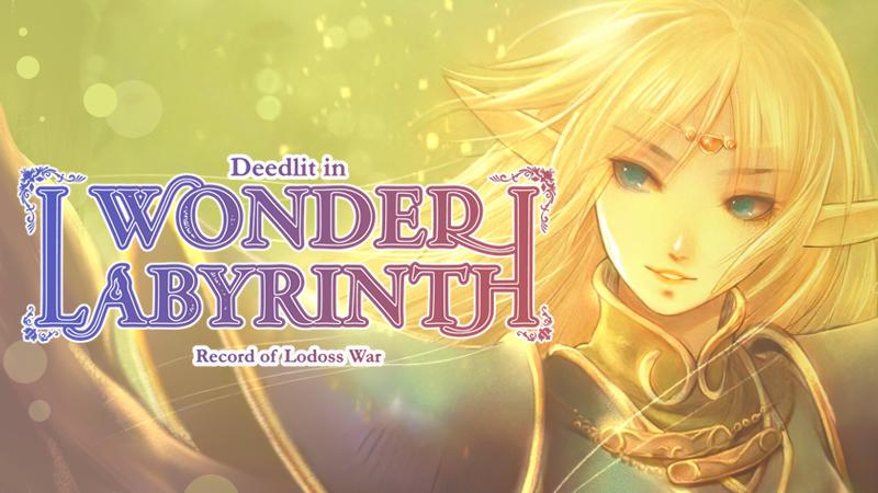 Registro de Lodoss War: Deedlit in Wonder Labyrinth