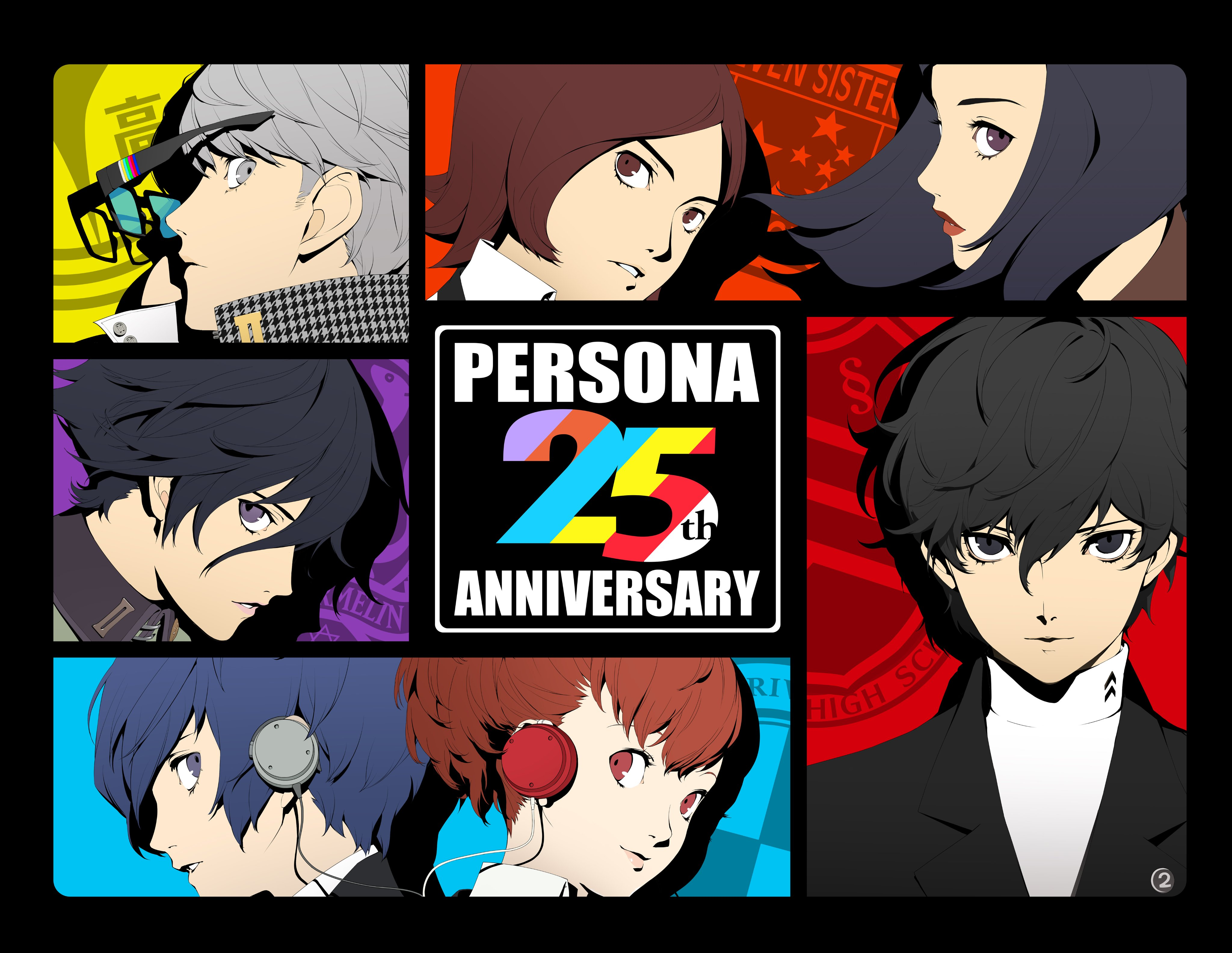 Personaje visual del 25 aniversario