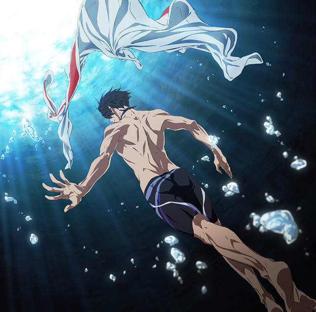 New Animes 2020 Crunchyroll   All New Free! Anime Film Takes the Plunge in Summer 2020
