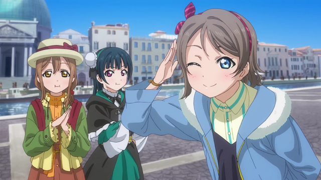 Aqours in Italy