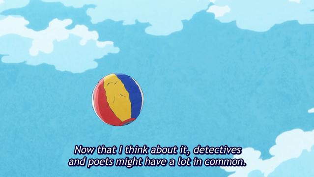 Ishikawa's poet and detective comparison