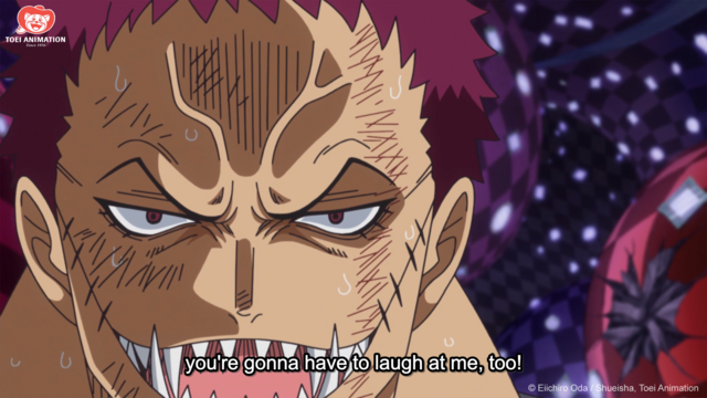 One Piece, Katakuri Stands Up For Luffy