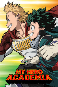 My Hero Academia Season 4 is a featured show.
