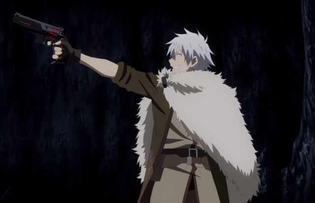 Hajime Nagumo brings a gun to a cyclops fight in the Arifureta: From Commonplace to World's Strongest TV anime.