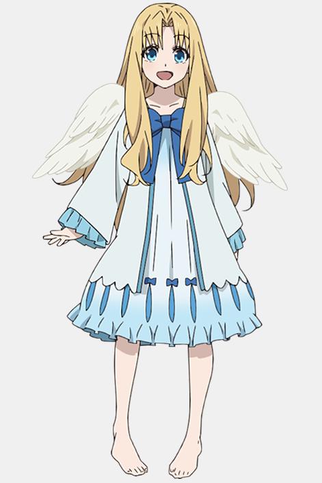 Le design de Firo, jeune demoiselle à l'allure angélique.