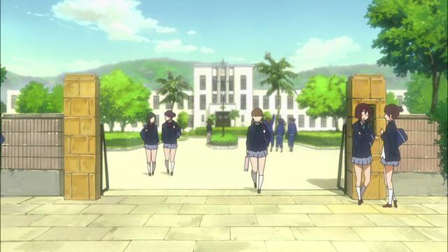 The Former Toyosato Elementary School in K-ON!