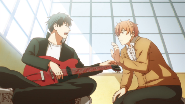 Mayufu, Ritsuka and their Guitar