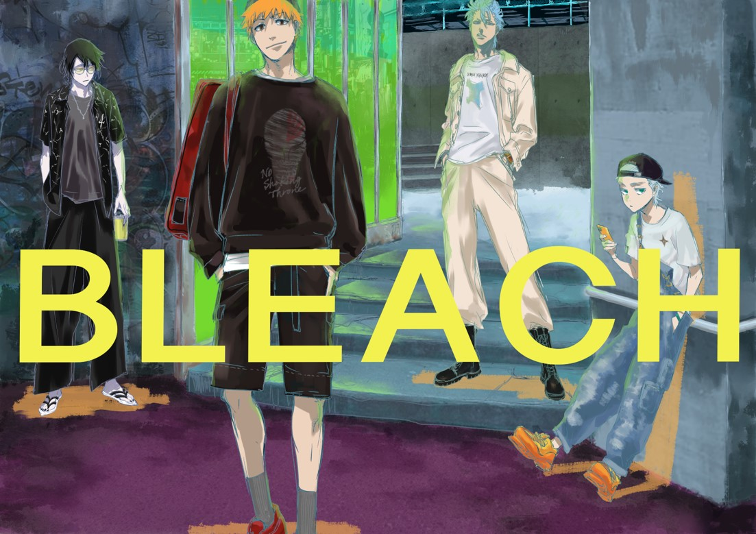 Bleach x Tokyo Girls Collection