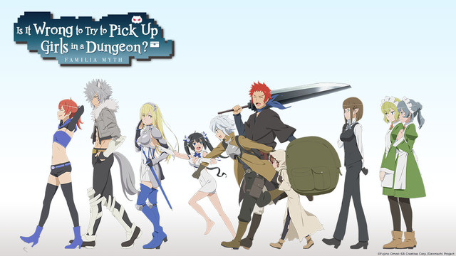 Is It Wrong to Try to Pick Up Girls in a Dungeon? - Promo Art #2